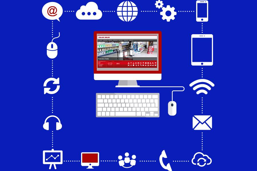 taller mecánico en internet