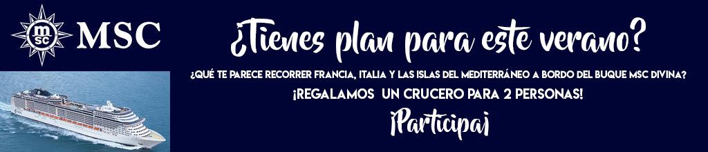 Banner Sorteo Crucero